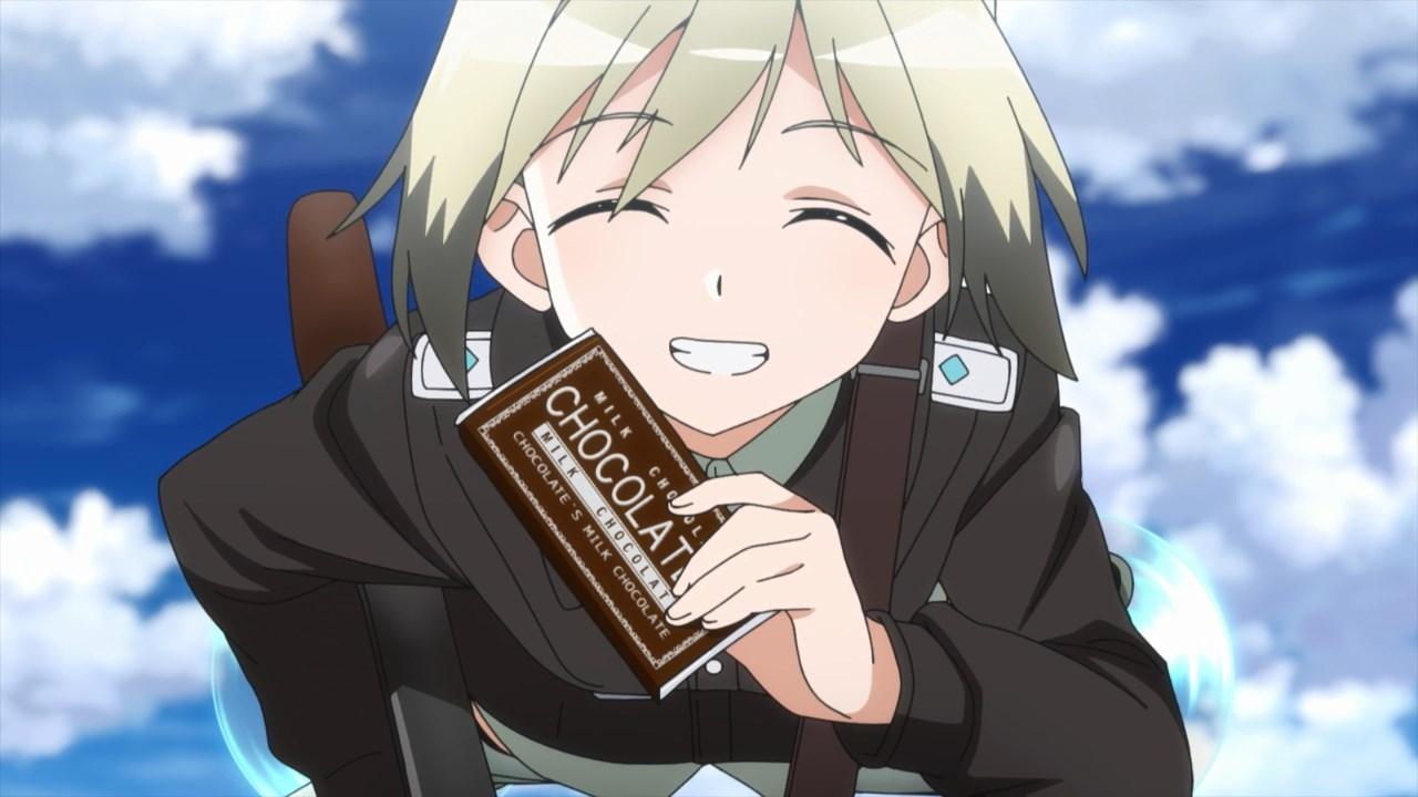 Hartmann's chocolate smile