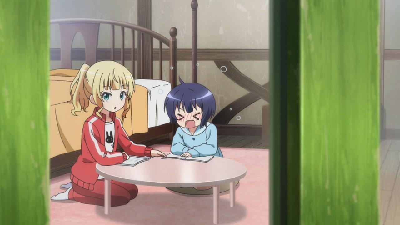 Maya studying with Syaro