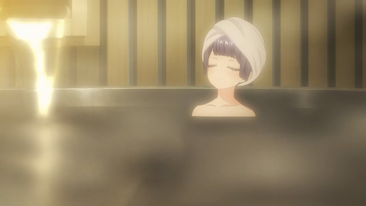Rei in the onsen