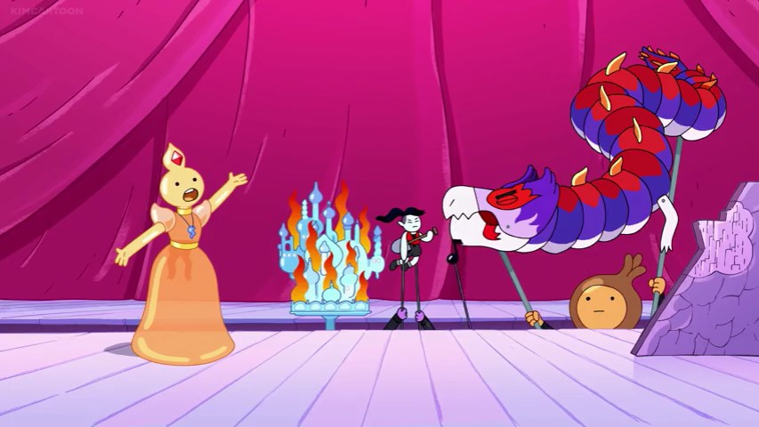 See-Thru Princess telling the story of Marceline's great deed