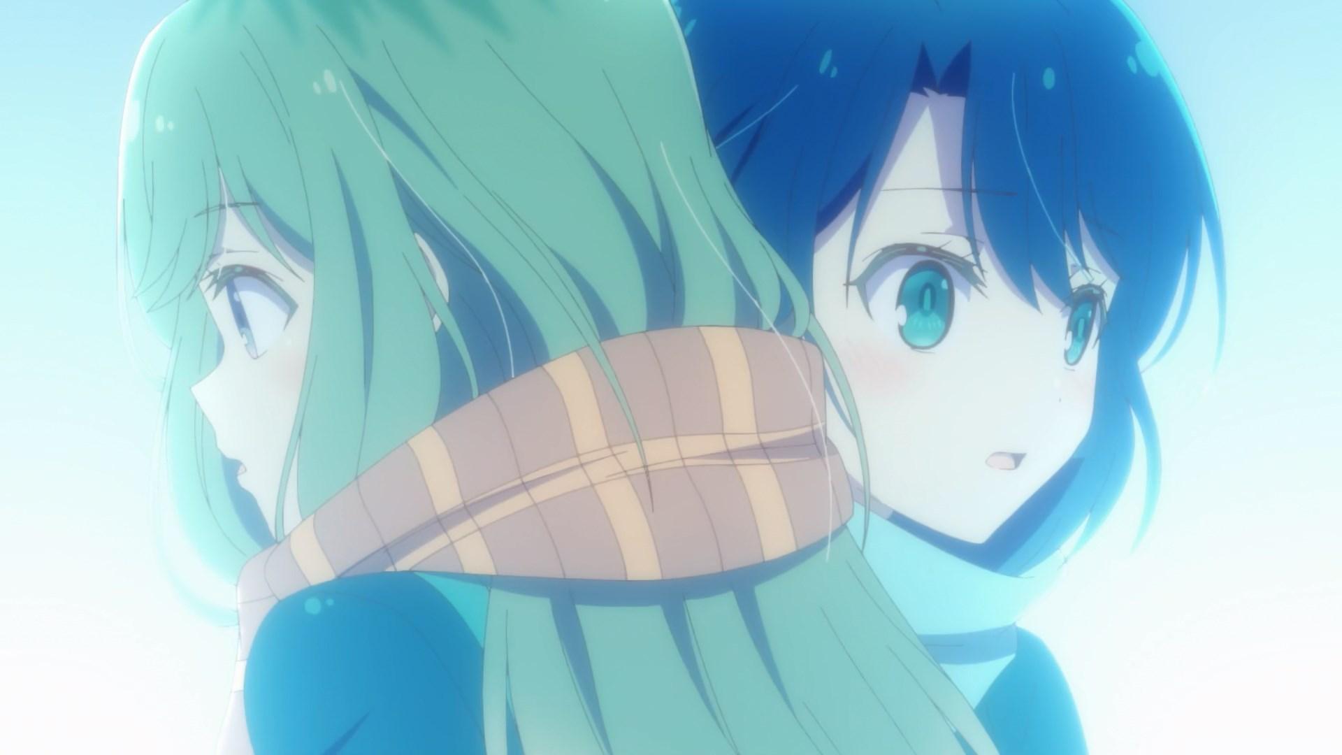 Shimamura saved Adachi from falling