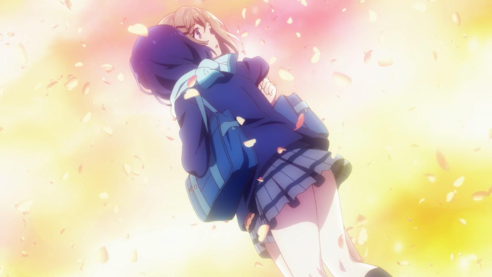 Adachi's big love hug