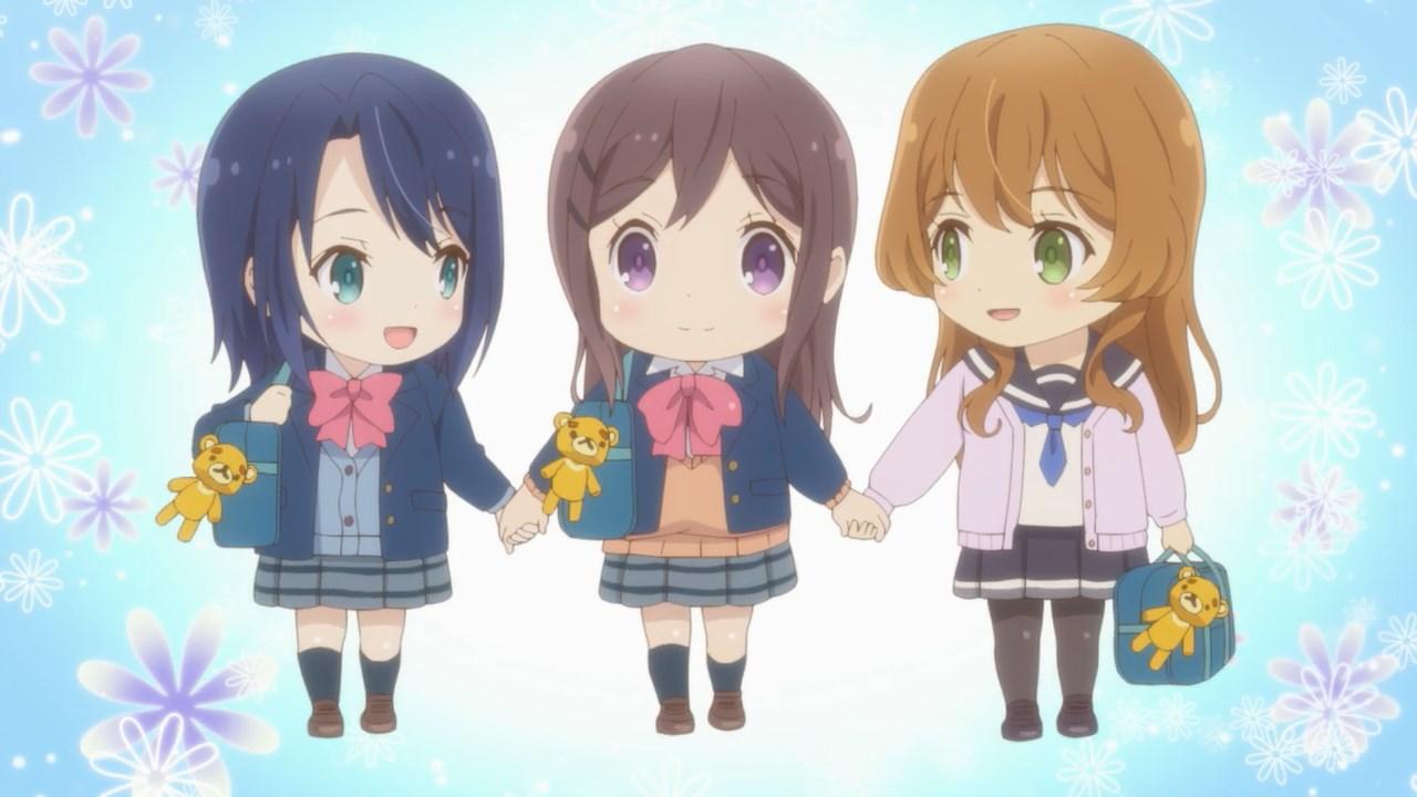 Chibi Adachi, Shimamura and Tarumi