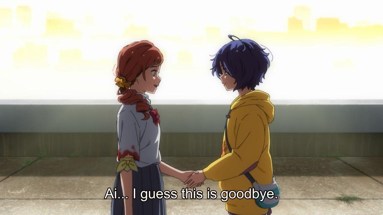 Kurumi thanks Ai for saving her