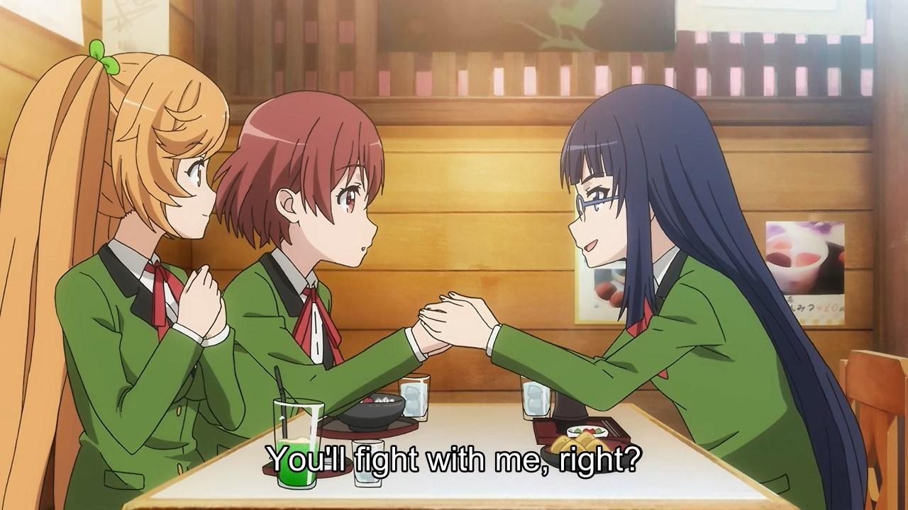 Rei joins Hirana's team