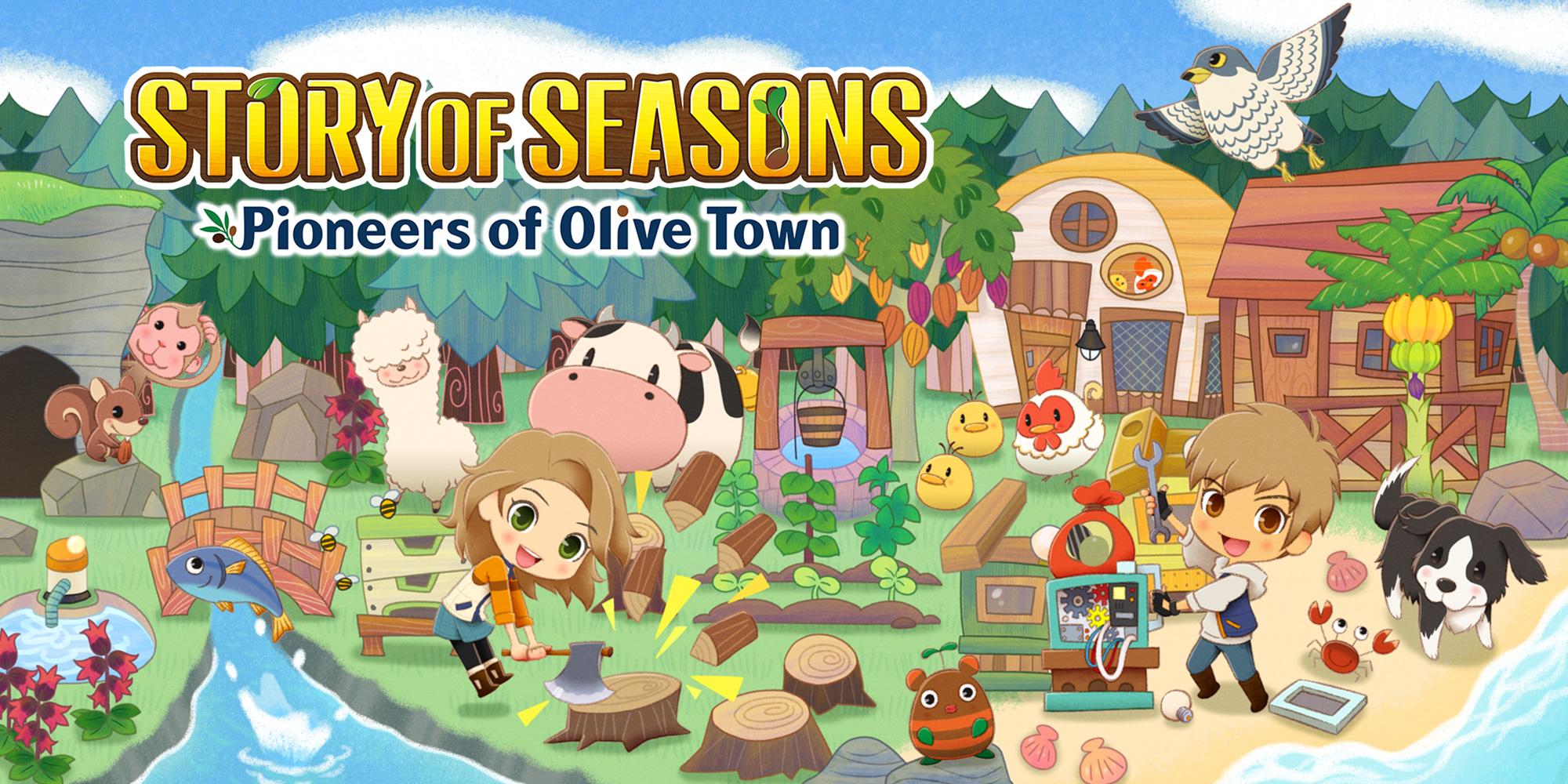 Story of Seasons Pioneers of Olive Town Banner