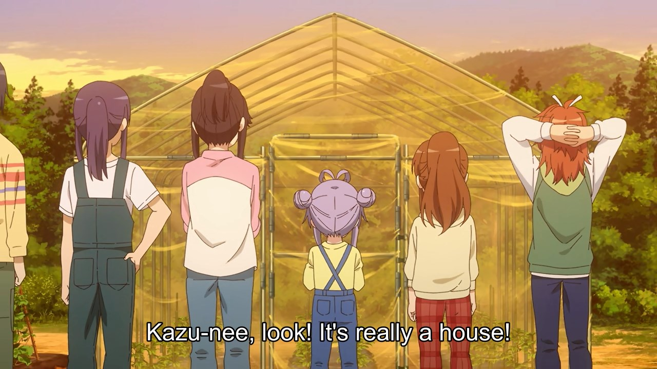 The gang built a greenhouse