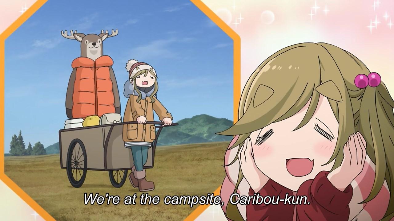 Aoi wants to buy big Caribou-kun