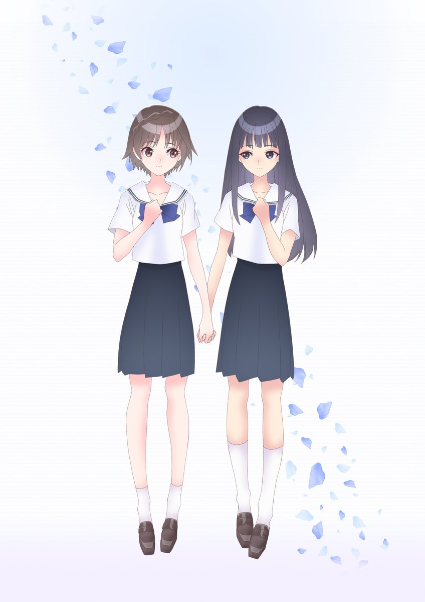 Blue Reflection Ray Protagonists
