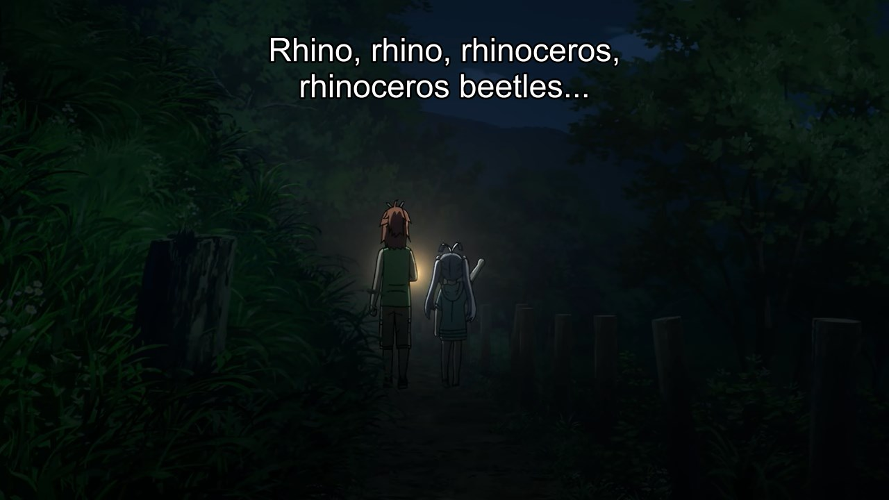 Natsumi and Renge off to catch rhinoceros beetles