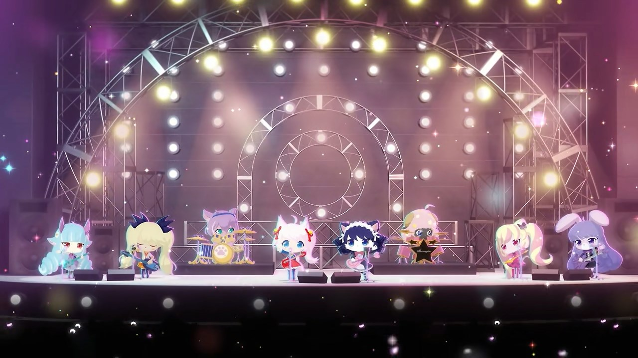 Plasmagica and Mashumairesh!! together on stage