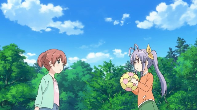 Renge and Shiori's deep discussion