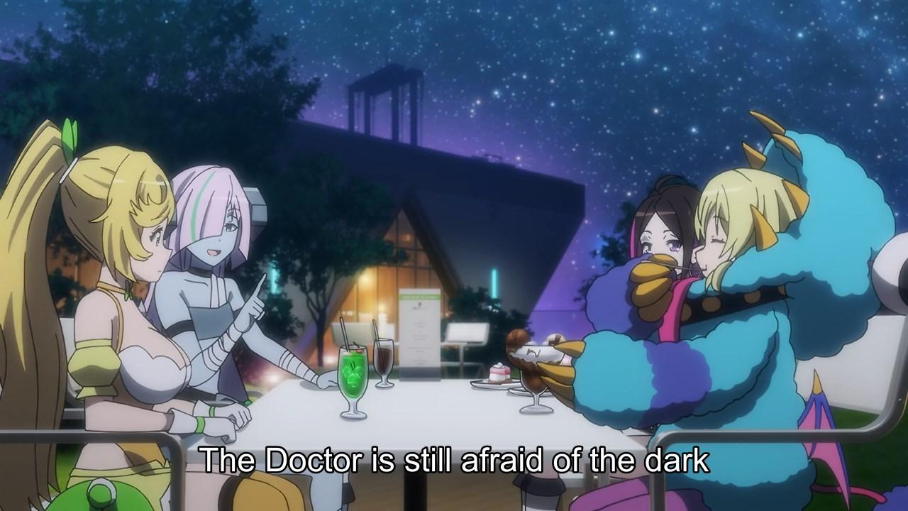 Universe's Beginning help cheer up Akino