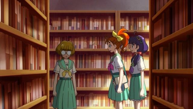 Manatsu and Sango meet Minori
