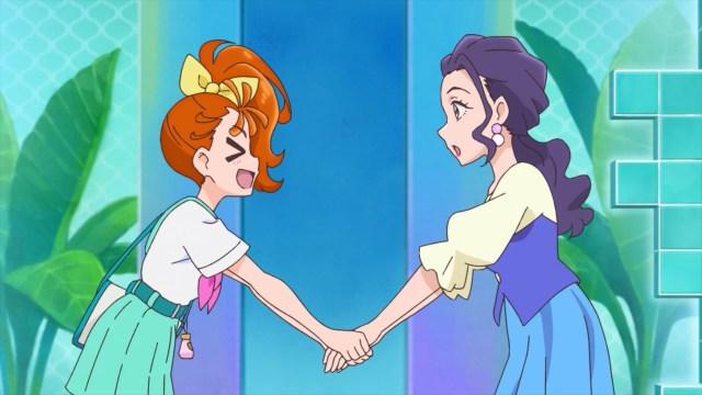 Manatsu meets Sango's Mom