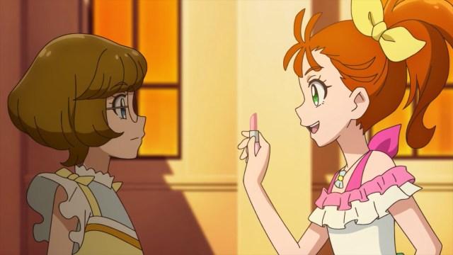 Manatsu's light and Minori in the shadow