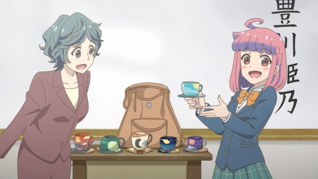 Himeno's class introduction