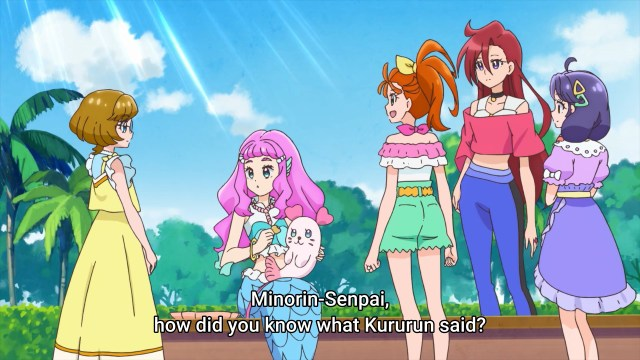 Minori guessed what Kururun felt