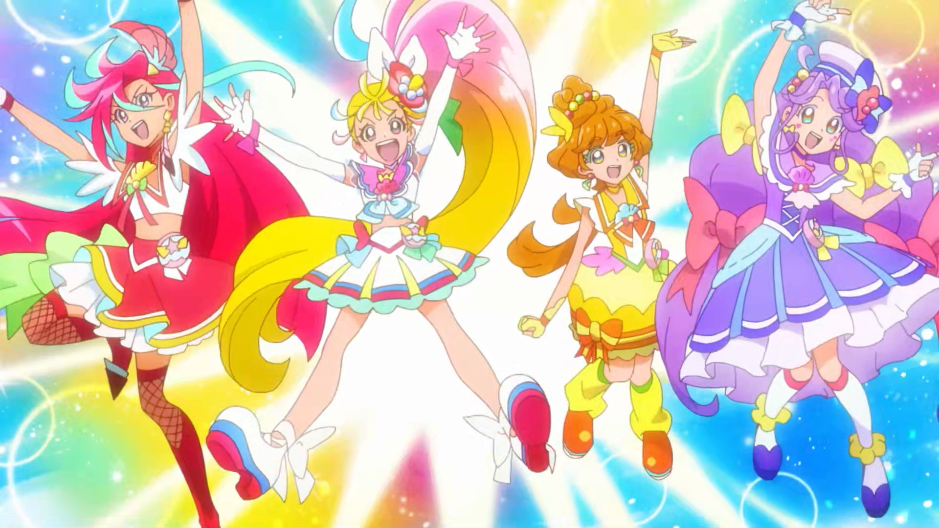 Tropical-Rouge PreCure 4 Pose