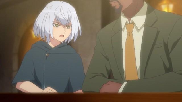 Eva secretly meets with the detective