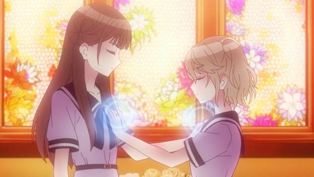 Niina and Mio ritual
