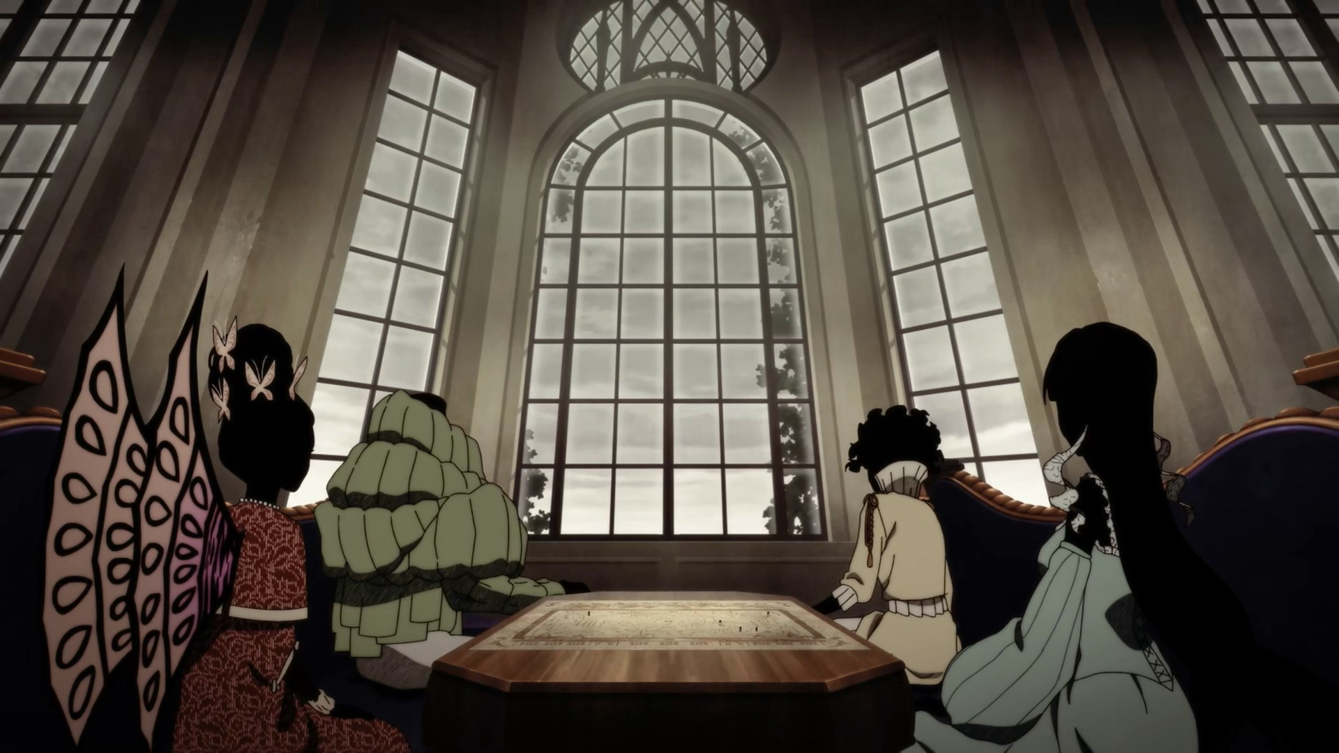 Shadow Nobles watching the Debut