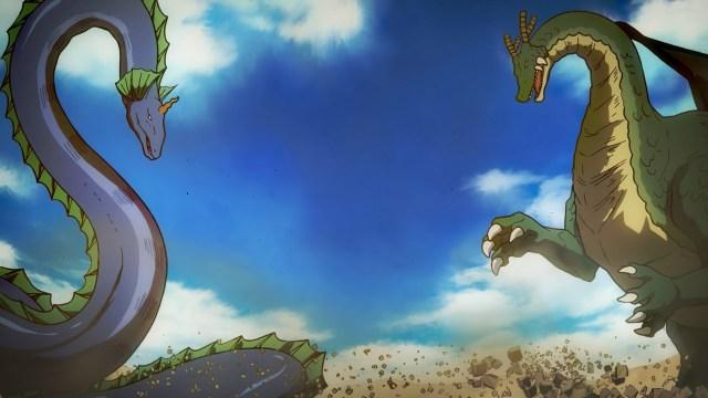 Dragon Tohru vs Dragon Elma